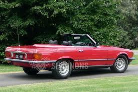 sold mercedes benz 350sl u0027manual u0027 convertible auctions lot 26