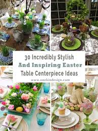 centerpiece ideas inspiring easter table centerpiece ideas 00 1 kindesign jpg