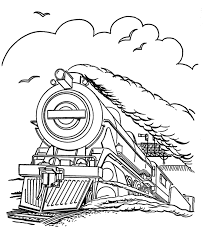 Steam Locomotive Coloring Pages Steam Train Coloring Pages Steam Locomotive Coloring by Steam Locomotive Coloring Pages