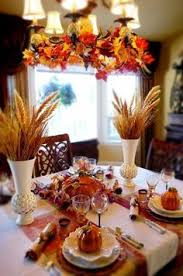 autumn table decorating ideas thanksgiving