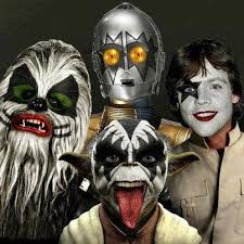 Kiss Halloween Costume Cute Funny Pictures Funny Star Wars Kiss Halloween