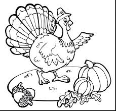 turkey coloring page pages printable feather day turkey