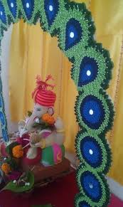 Diwali Decorations In Home 100 Home Ganpati Decorations Ideas Pictures Part 2 3 Ganpati