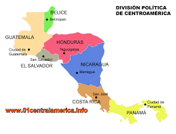 america map guatemala central america and caribbean islands travel information