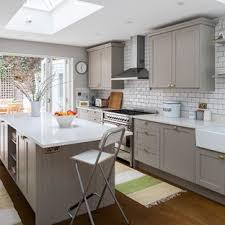 grey kitchen cabinets wood floor 75 beautiful wood floor kitchen with gray cabinets
