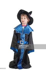Cute Boy Halloween Costumes Beautiful Cute Boy Witch Halloween Costume Stock Photo