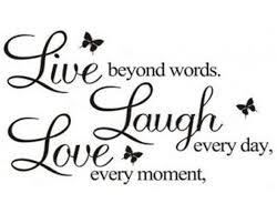 live laugh love ecloud shop pvc live laugh love letters removable room art mural