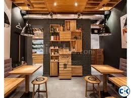 Small Fast Food Restaurant Interior Design ClickBD - Fast food interior design ideas