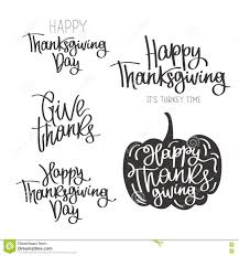 set of quotes to the happy thanksgiving day stock vector image