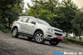 chevrolet trailblazer 2017 chevrolet trailblazer price reduced by rs 3 04 lakhs motorbeam