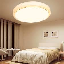 flush mount kitchen ceiling lights 18w switch dimmable round led ceiling light room fixture lamp 3500