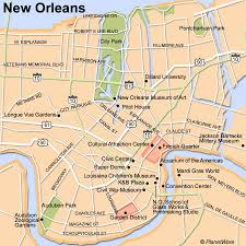 orleans map 15 top tourist attractions in orleans planetware