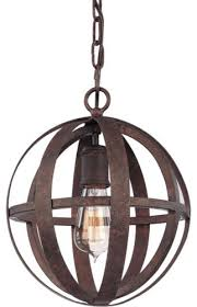 Wrought Iron Pendant Light Troy Lighting Flatiron 1 Light Wrought Iron Pendant Industrial