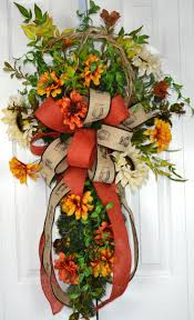halloween floral decorations 394 best swags images on pinterest christmas swags christmas