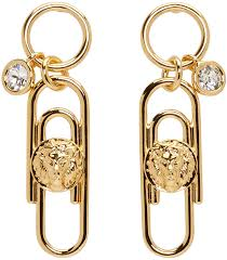 gujarati earrings versus versace jewelry versus gold safety pin earrings women