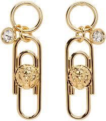 gujarati earrings versus versace jewelry versus gold safety pin earrings women