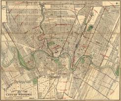 Map Of Winnipeg Canada by Mcphillips U0027 Map Of The City Of Winnipeg City Of St Bonif U2026 Flickr
