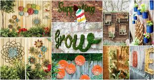 Creative Garden Decor Creative Garden Fence Decoration Ideas Inspirational Home