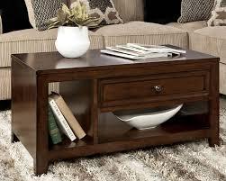 attractive storage ottoman coffee table black leather storage