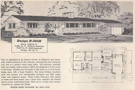 Mid Century House Plans Vintage House Plans 105h Antique Alter Ego