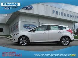 2013 ford focus titanium hatchback for sale 2013 ford focus titanium hatchback in white platinum 105972