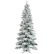 vickerman flocked slim utica tree with dura lit 300