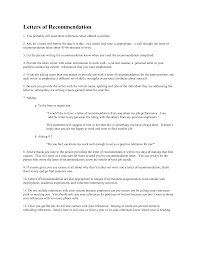collection of solutions personal letter of recommendation for