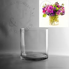 wholesale flowers and supplies 7 5 x 7 glass cylinder vase wholesale flowers and supplies
