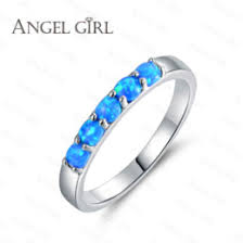 blue opal engagement rings discount opal engagement rings 2017 blue opal