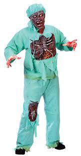 Mens Doctor Halloween Costume Zombie Doctor Costume Costumes