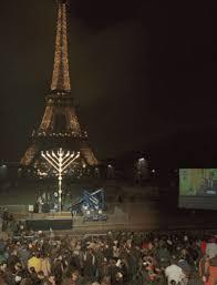 paris france public menorahs around the globe chanukah hanukkah