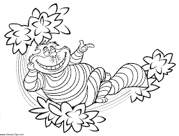 alice wonderland coloring book pages kids coloring