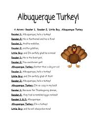 albuquerque turkey readers theater thanksgiving by natalie rigsby
