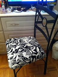 diy re upholstering dining chairs youtube
