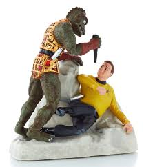 trek hallmark ornaments 2013 the gorn fight and