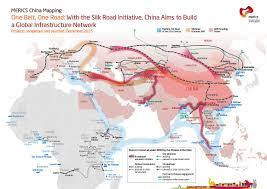 Silk Road Map China U0027s U201cone Belt One Road U201d Initiative U201ca New Silk Road Linking