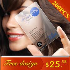 Free Business Cards Printing Transparent Business Cards Printing Online Transparent Business