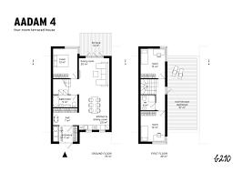 terraced house floor plans b210