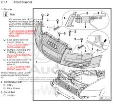 2003 audi a4 front bumper cover front bumper cover removal audiworld forums
