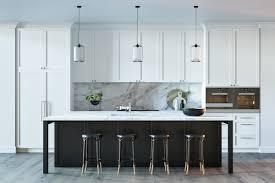 kitchen backsplash black stained kitchen island white marble