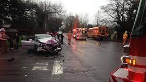 elementary students ok after oregon city bus crash