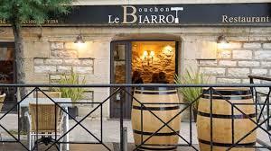 le bouchon cuisine le bouchon biarrot restaurant à arcangues cuisine français