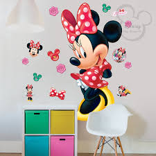 Large Wall Stickers Uk Brand New Affordable Price Disney Minnie Mouse Large Wall