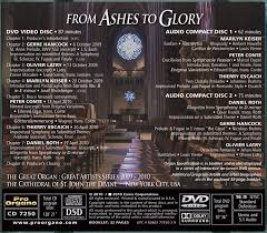 from ashes from ashes to dvd plus 2 cds latry keiser conte escaich