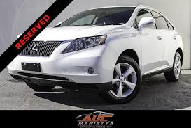 2010 white lexus rx 350 for sale 2010 lexus rx 350 stock 016930 for sale near marietta ga ga