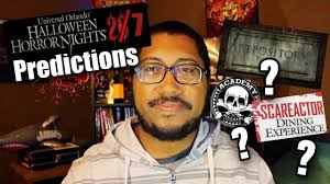 2017 halloween horror nights map halloween horror nights 27 predictions youtube