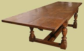 Oak Dining Table Uk Oak Extending Table 6 To 10 Seater Dining Table 12 To 16