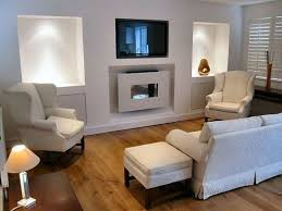 Living Room Fireplace Ideas - living room with tv above fireplace decorating ideas design