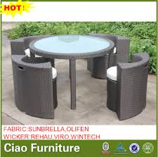 7025 china space saving outdoor furniture turkey rattan dining