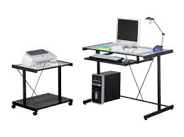 Computer Desks Rolling Mobile Computer Desk Table Cart Yellow